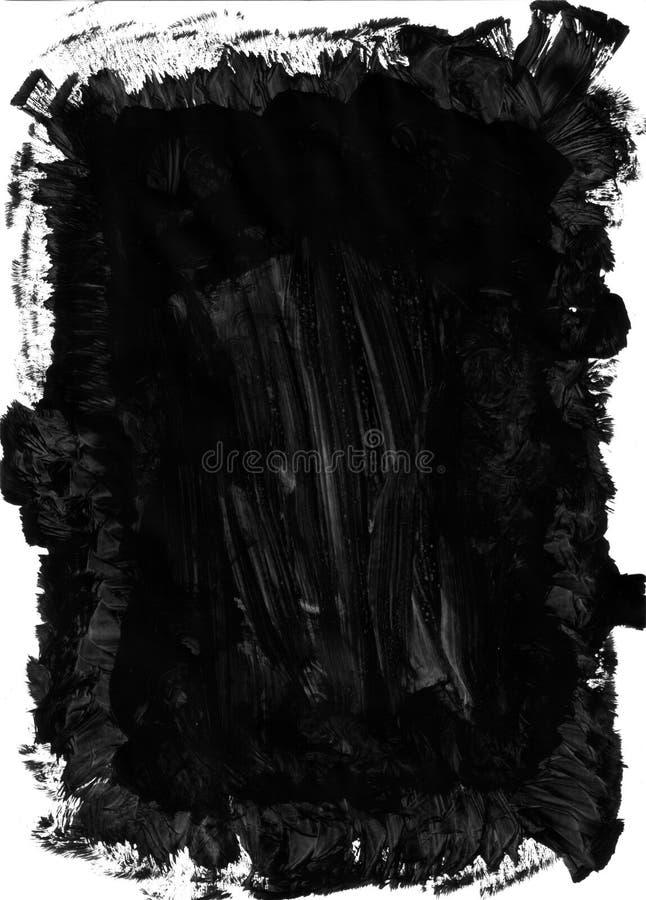 Marca-factura da escova de pintura ilustração do vetor