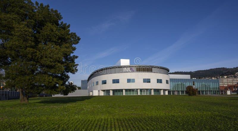 12 marca 2020 r., INL International Nanotechnology Laboratory w Bradze, Minho obraz stock
