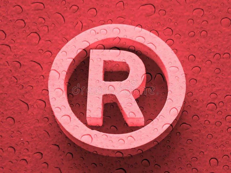 Marca registrada stock de ilustración