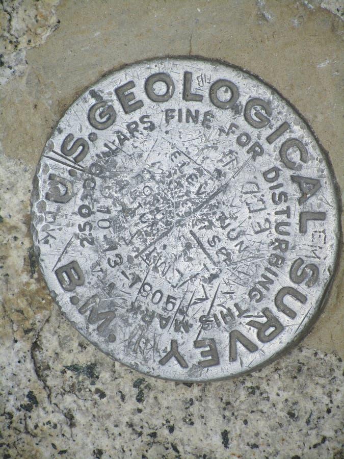 Marcador do estudo geológico fotos de stock