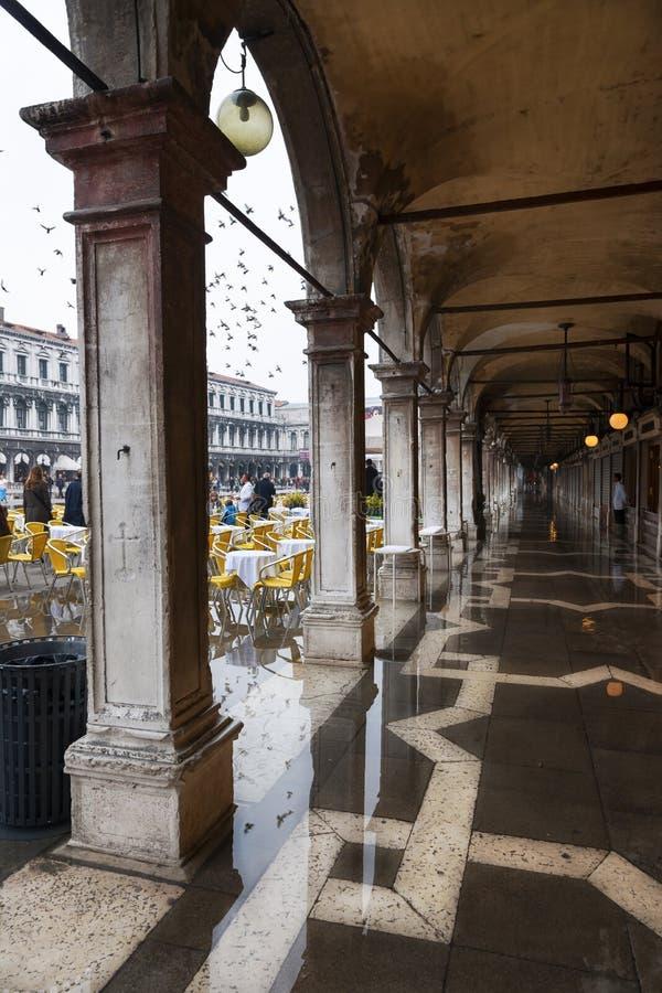 Marcas del St, Venecia, Italia imagen de archivo