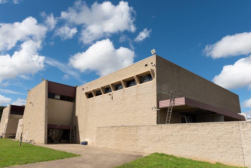 Marcel Breuer projetou a fábrica modernista do estilo, Sydney Australia imagem de stock royalty free
