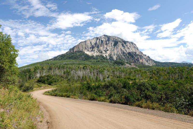 Marcellina Mountain fotografia de stock royalty free