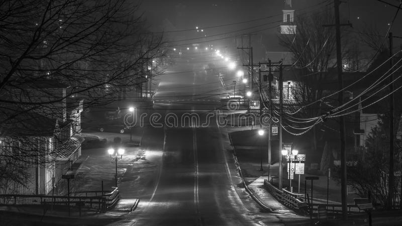 Marcellus New York Small Town USA royaltyfria bilder