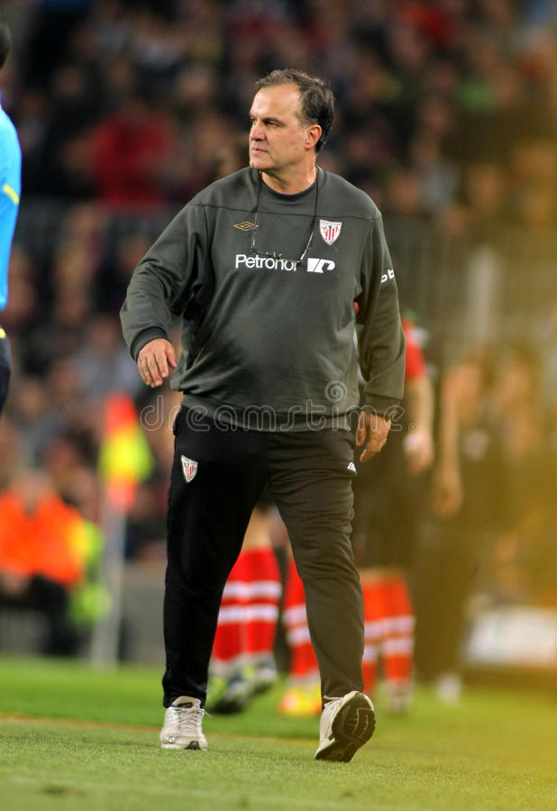 Download Marcelo Bielsa Of Athletic Bilbao Editorial Photography - Image: 24120832