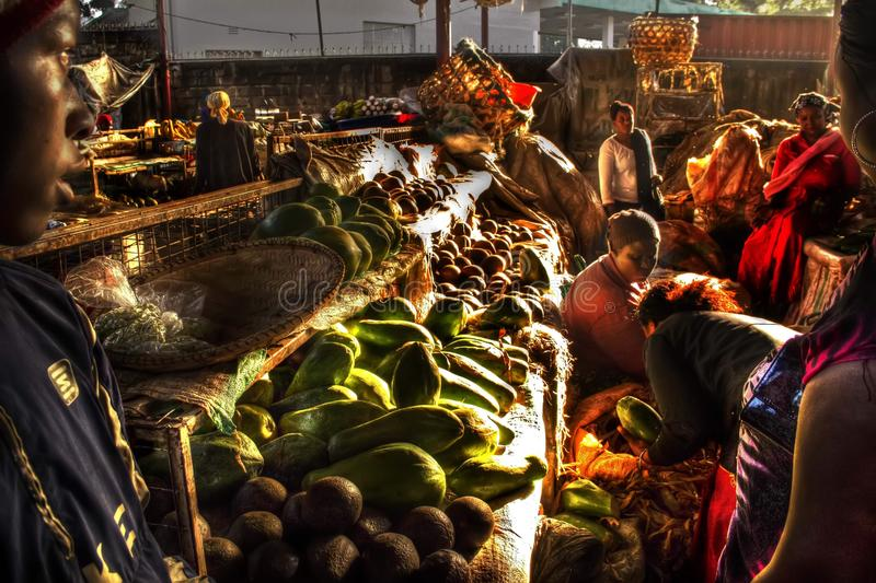 marché africain images stock