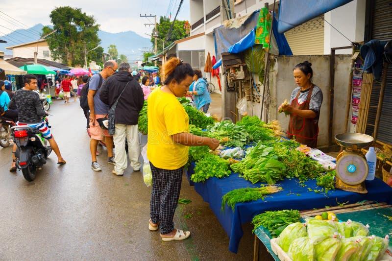marché asiatique d'épicerie fraîche photos libres de droits
