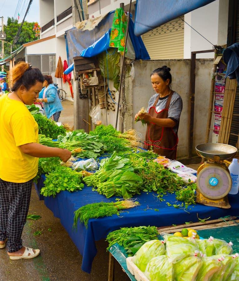 marché asiatique d'épicerie fraîche photo libre de droits