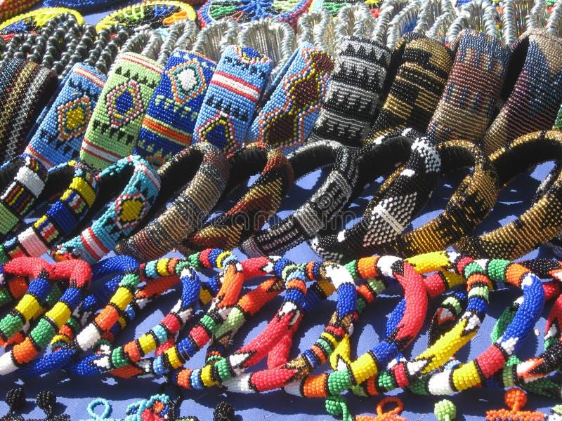 Marché aux puces d'Essenwood Durban Afrique du Sud photos libres de droits