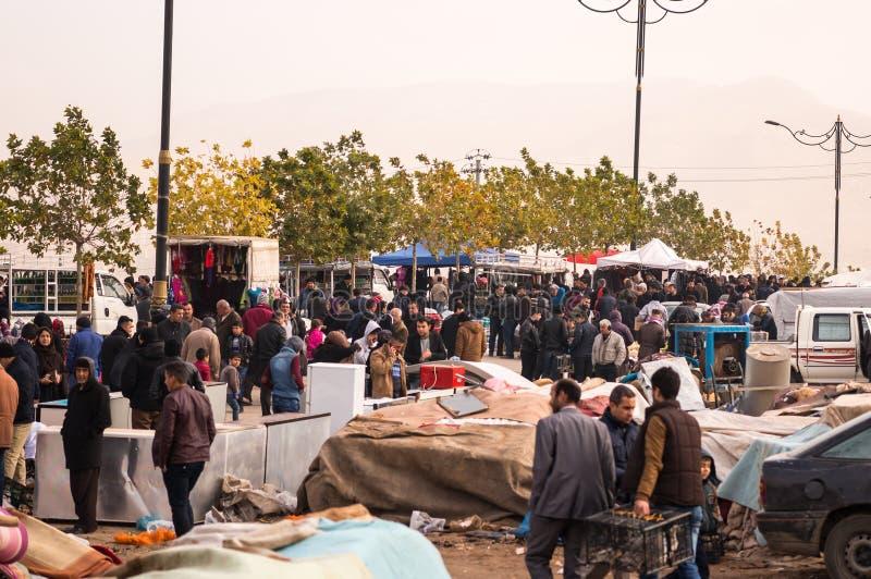 Marché aux puces en Irak photos stock