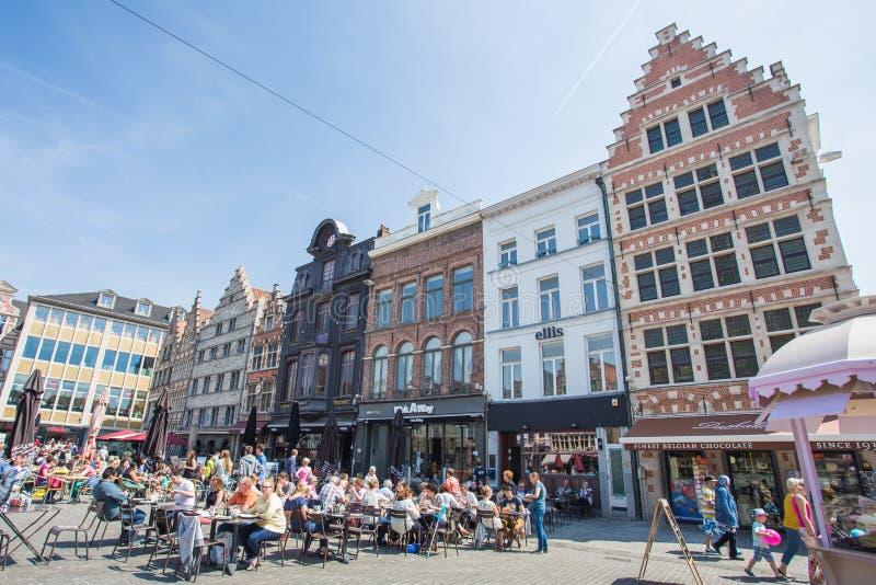 Download Marché Central De Gand, Belgique Photo éditorial - Image du canal, beau: 45369011