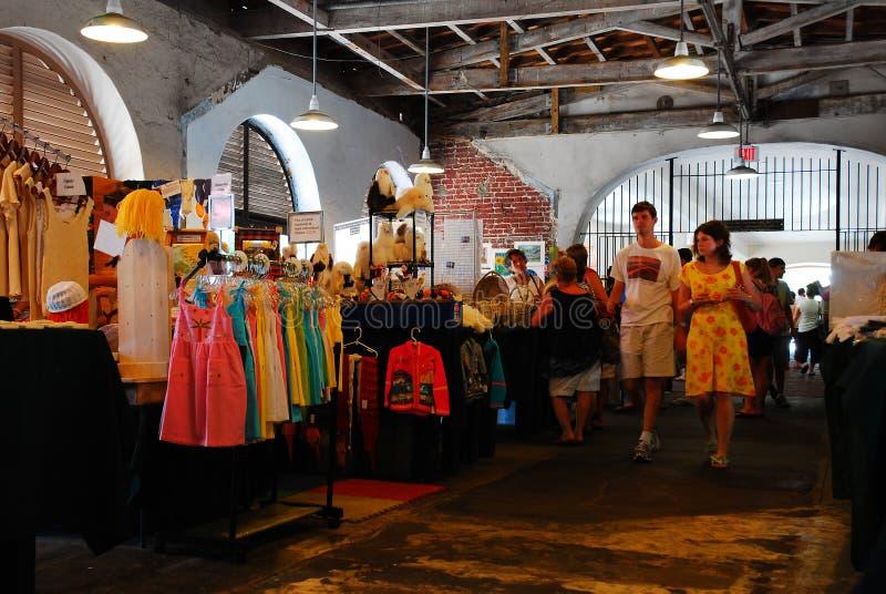 Marché Charleston de ville photos stock