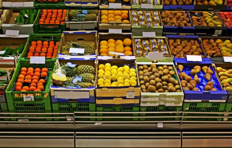 Marché d'épicerie images libres de droits