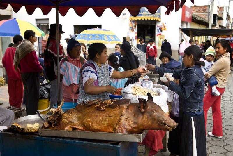 Marché d'Otavalo - Equateur image libre de droits