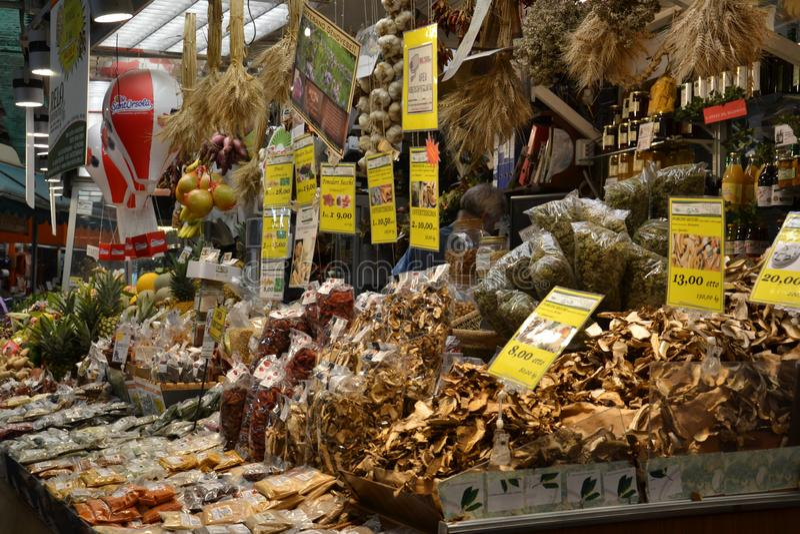 marché de bacelona photo stock