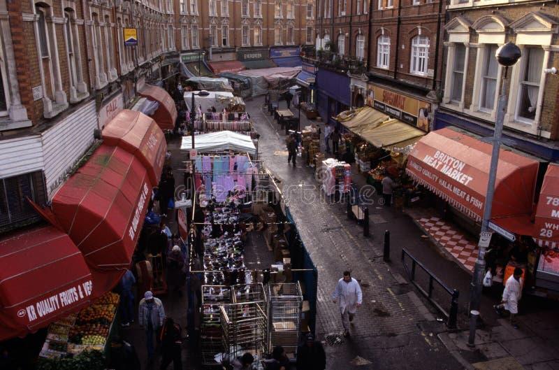 Marché de Brixton, Londres photo libre de droits