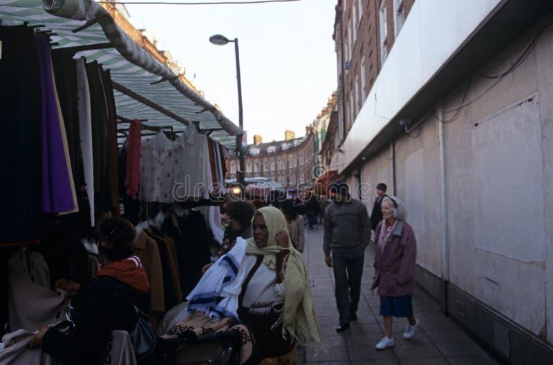 Marché de Brixton, Londres photos stock