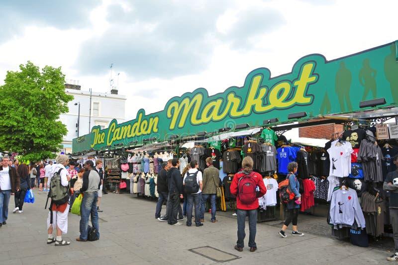 Marché de Camden à Londres, Royaume-Uni image stock