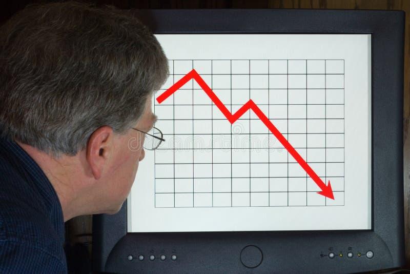 marché de chute image stock