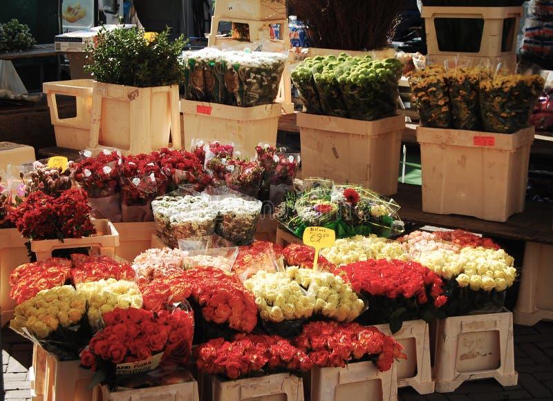 Marché de fleurs photographie stock libre de droits