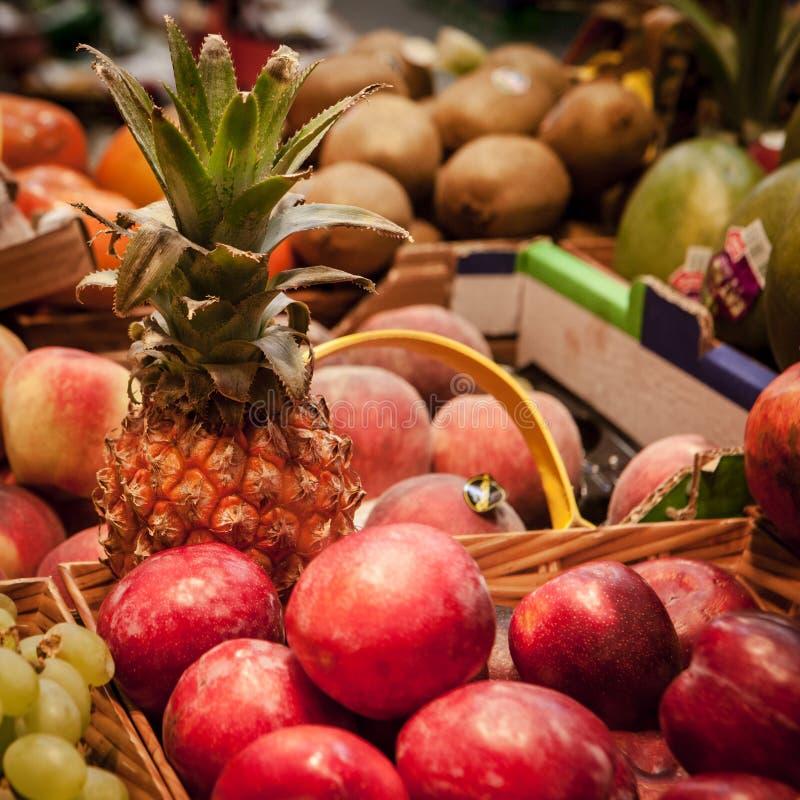 Marché de fruit images stock