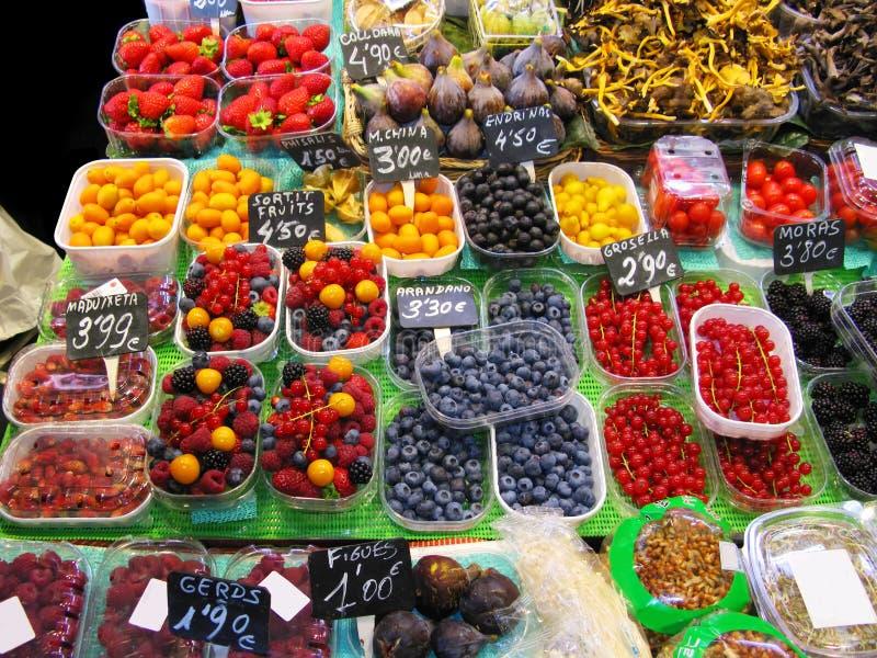 Marché de fruits image libre de droits