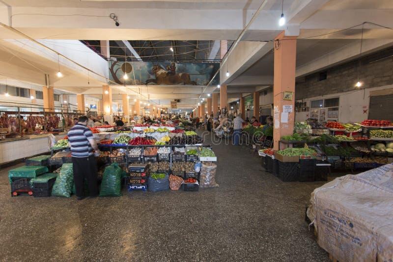 Marché de fruits et légumes photo libre de droits