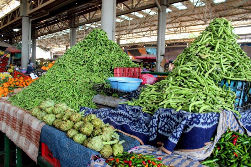 Marché de légumes photographie stock libre de droits