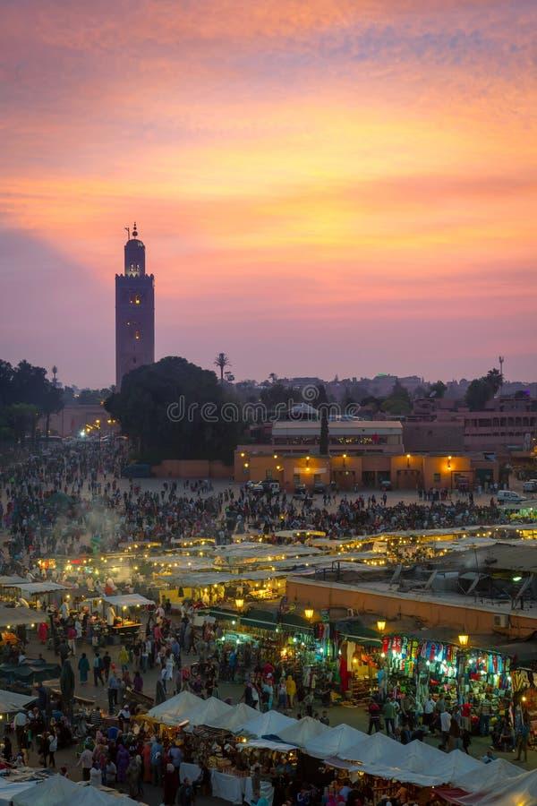 Marché de Marrakech photo libre de droits