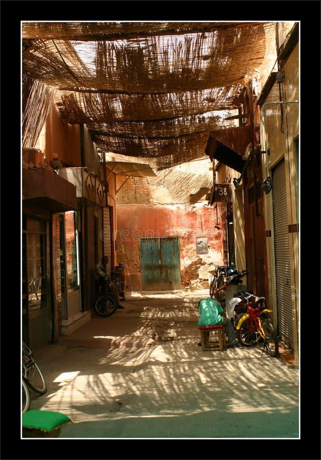Marché de Marrakech (Souk) images stock