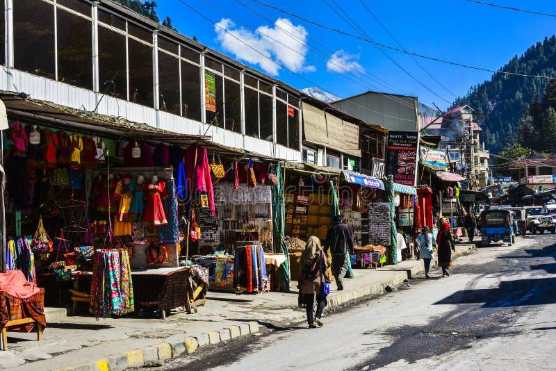 Marché de Naran - bazar photos stock