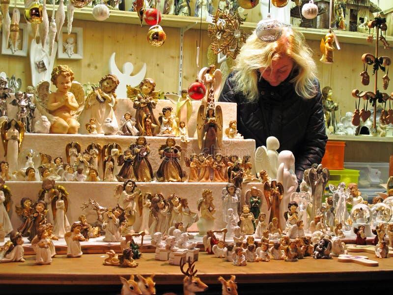 Marché de Noël photo stock