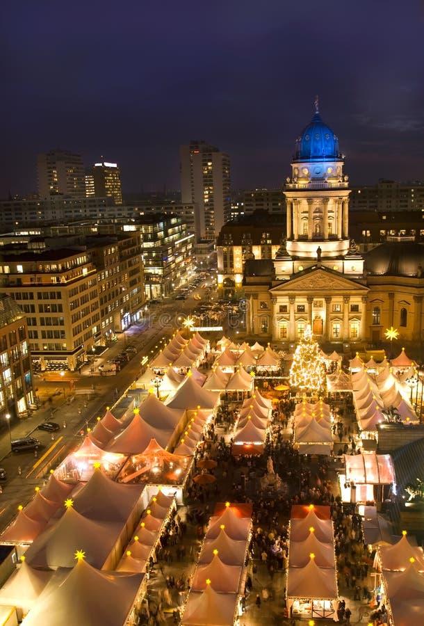 Marché de Noël de Berlin photographie stock libre de droits