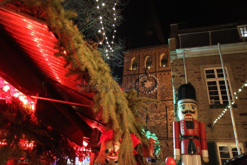 Marché de Noël en Allemagne images libres de droits