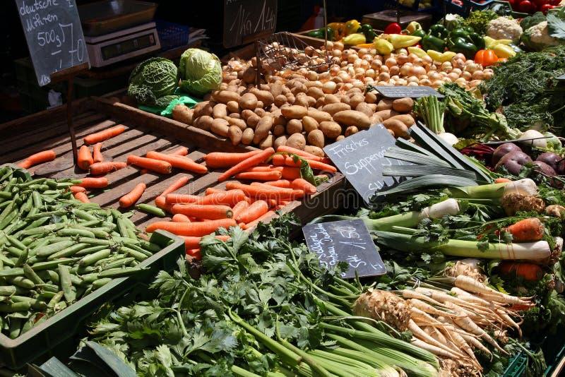 Marché de nourriture photographie stock