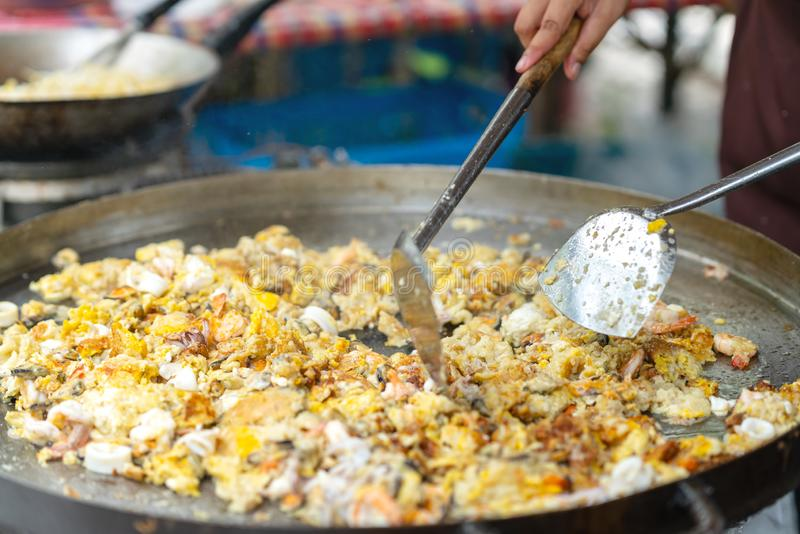 Marché de nourriture de rue du ` s de la Thaïlande photo stock