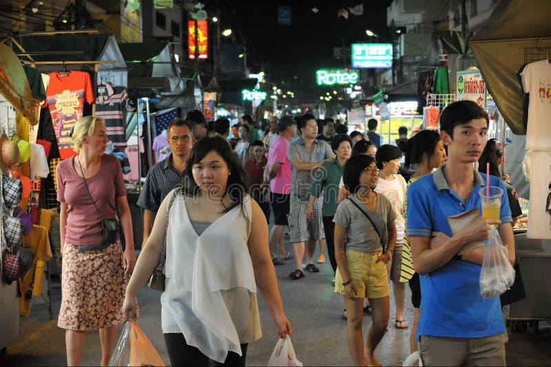 Marché de nuit photo libre de droits