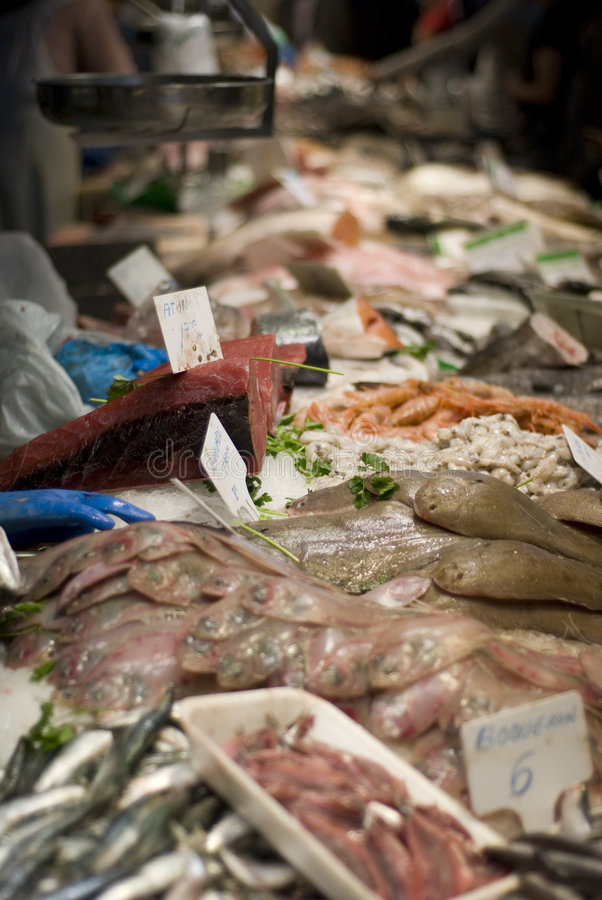 Download Marché de poissons photo stock. Image du mangez, thon - 2144474