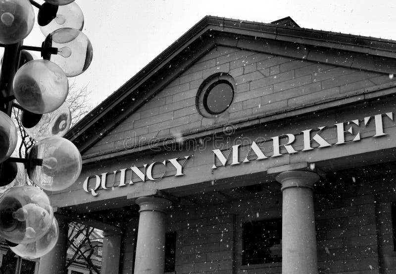 Marché de Quincy photographie stock libre de droits