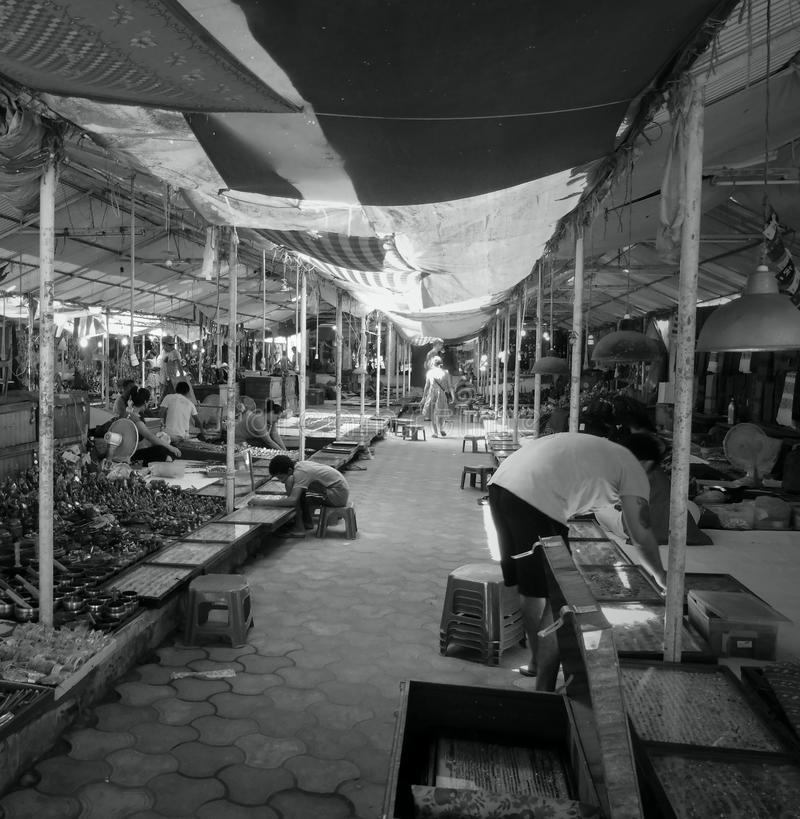 marché du Thibet de baga photo libre de droits