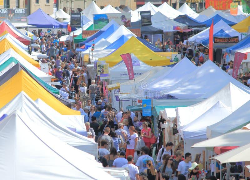 Marché Hobart Australia de Salamanque photos libres de droits