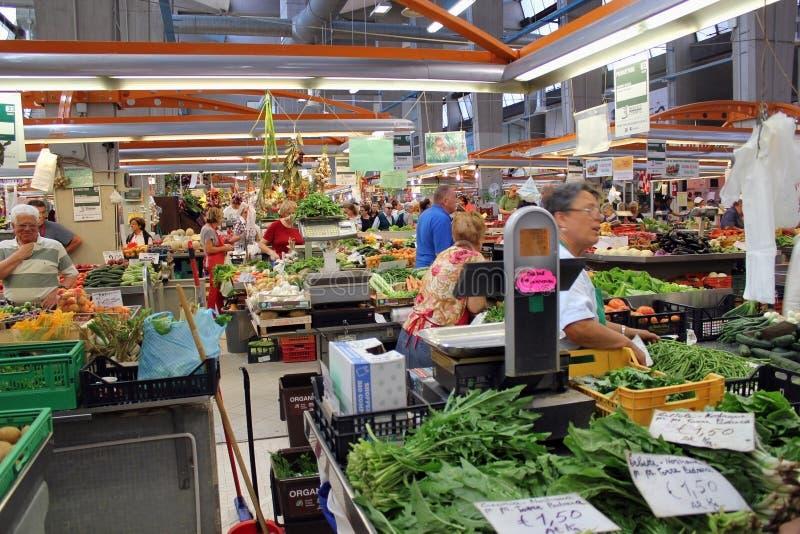 Marché italien de légumes photo stock