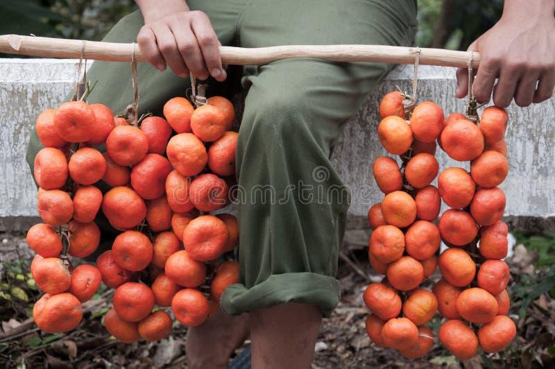 Marché local authentique quelque part dans Caribe photo libre de droits