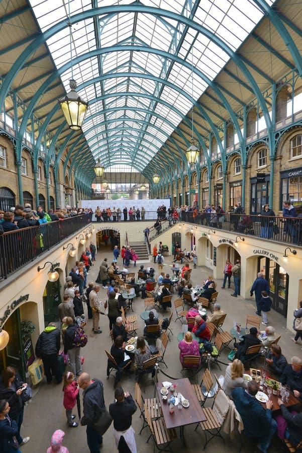 Marché Londres de jardin de Covent photo libre de droits
