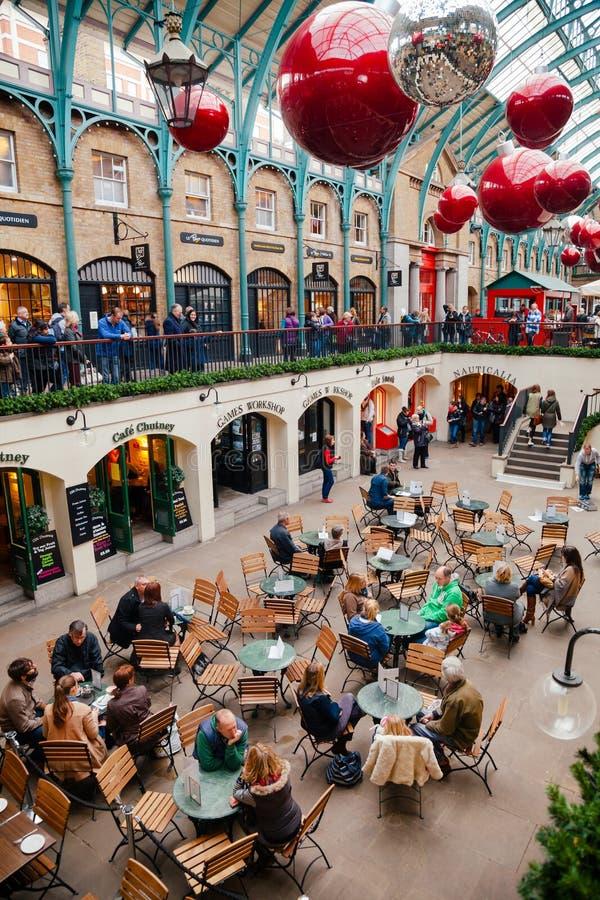 Marché Londres intérieure R-U de jardin de Covent images stock