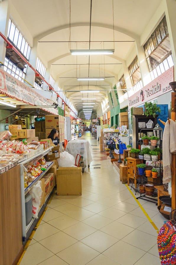 Marché municipal connu sous le nom de Shangri-La dans la ville de Londrina photo libre de droits