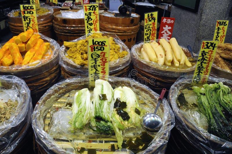 Marché traditionnel au Japon photographie stock