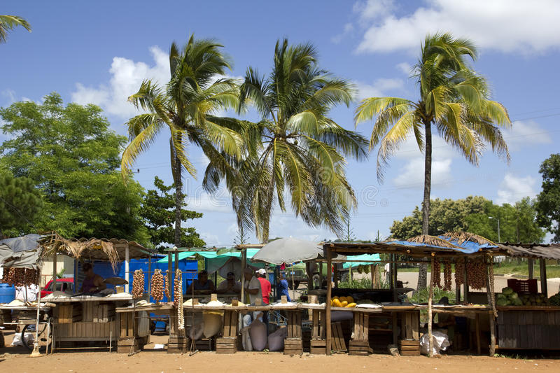 Marché tropical. images stock