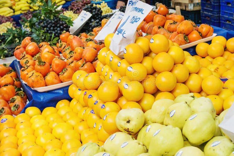 Marché turc d'agriculteur images stock