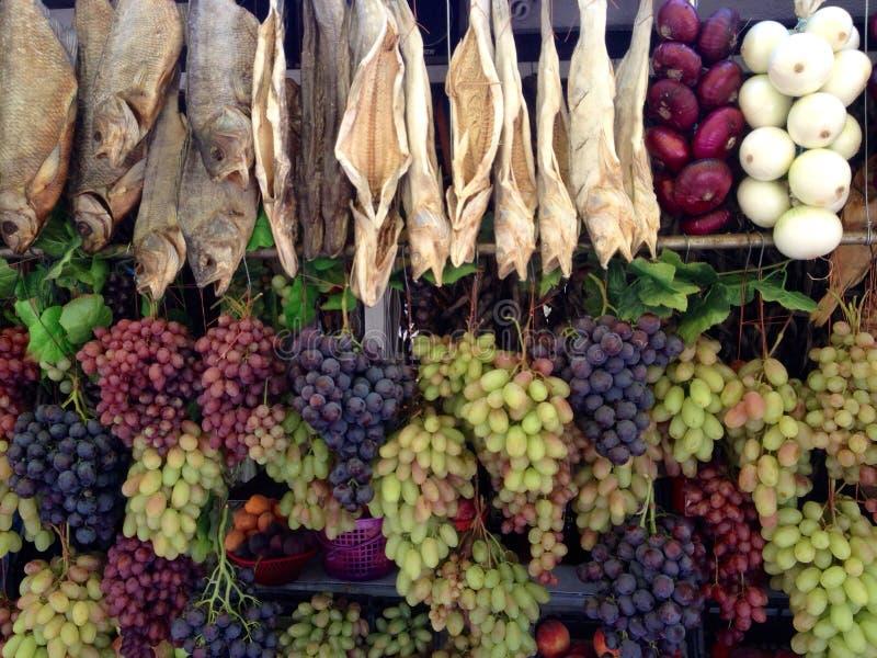 Marchés végétaux photographie stock libre de droits